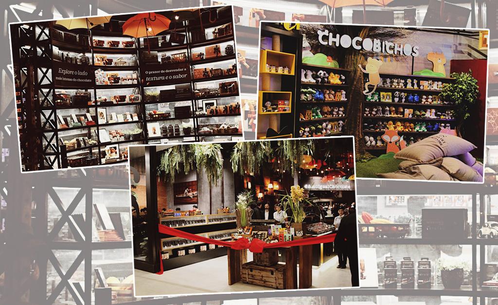 7e789426fc3 Cacau Show inaugura a maior loja de shopping da América Latina de  chocolates finos