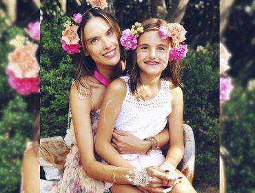 """Alessandra Ambrosio comemorou 10 anos da filha Anja com festança """"a la"""" Coachella"""