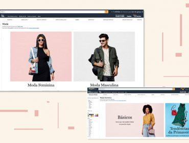 Amazon anuncia lojas de moda e esportes em seu marketplace com marcas e estilistas poderosos