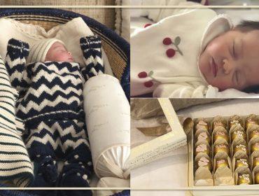 Glamuzinha nova no pedaço:Nasceu Gaia a primeira filha da estilista Cris Barros