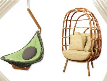 Lá em Casa: área verde com as poltronas Breton por Latoog Design e Bruno Jahara