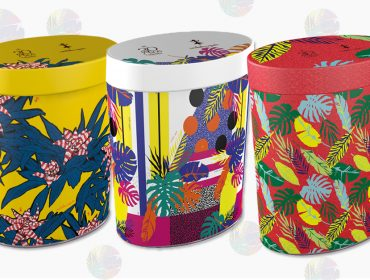 Isabela Capeto cria latas colecionáveis em parceria com a Cacau Show