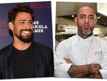 Cauã Reymond e Henrique Fogaça vão cozinhar juntos em SP. Aos detalhes!
