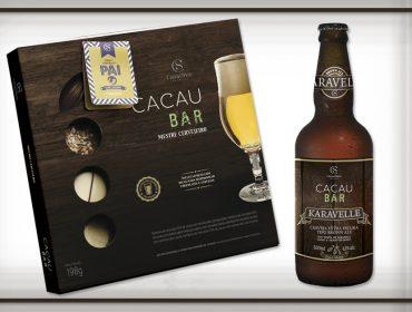 Cacau Show harmoniza chocolate com bebidas para o Dia dos Pais