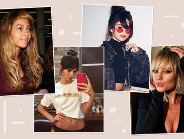 Com franja ou sem? A dramática diferença dos cabelos de algumas celebridades… Vem ver