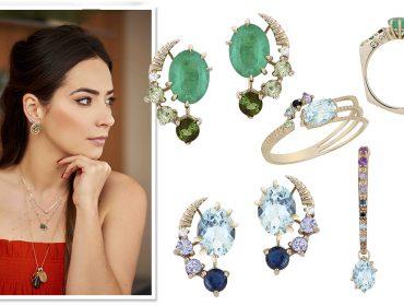 Carol Bassi Jewelry lança coleção inspirada na água com parte das vendas revertida para a BrazilFoundation