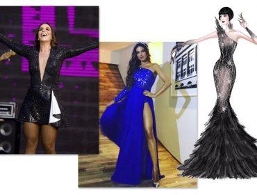 Estilista de Ivete Sangalo só atende com hora marcada e cobra a partir de R$ 3 mil por um vestido. Que tal?