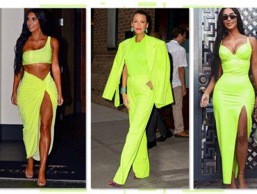 Volta do neon: Kim Kardashian e Blake Lively já aderiram à tendência