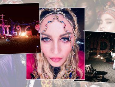 Uma noite no deserto: o que rolou na festa de aniversário de 60 anos de Madonna