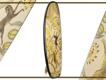 Desejo do Dia: cair no mar com a luxuosa prancha longboard da Hermès