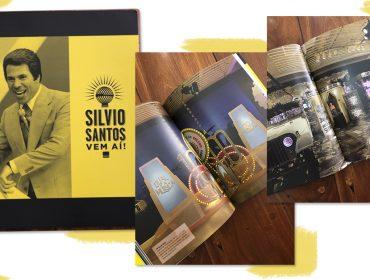 Livro com trajetória de Silvio Santos comemora os 37 anos do SBT