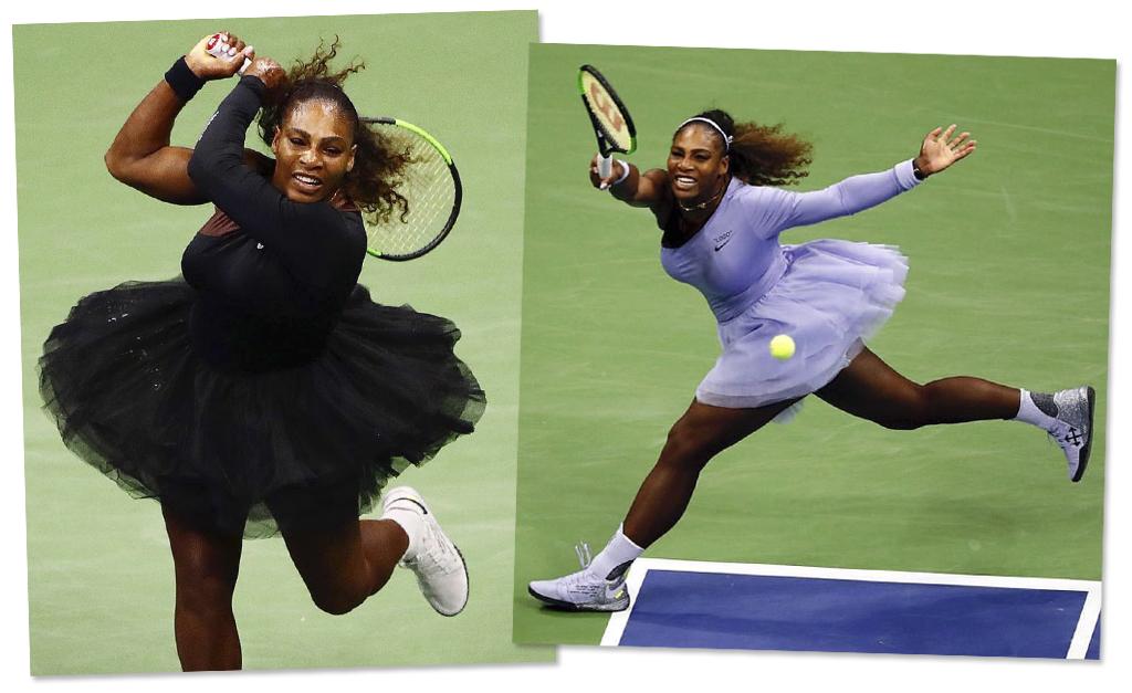 3455d48a2a Serena Williams quebrando tudo nas quadras do US Open    Reprodução  Instagram