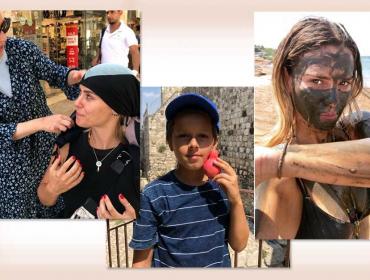 """""""Ortodoxando"""": Carolina Dieckmann em Jerusalém com o marido… Muitas emoções!"""