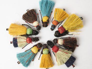 Lá em Casa: bonecas de fibra de caroá fazem parte da coleção afro-atlântica da lojinha do MASP