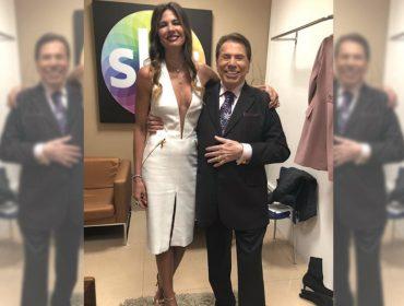 Luciana Gimenez tieta Silvio Santos e bota fogo em boato sobre possível troca de emissora