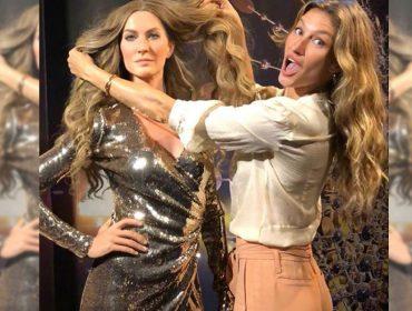 """Gisele Bündchen ganha estátua de cera em sua versão """"Garota de Ipanema"""""""