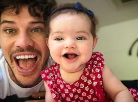 José Loreto abre o coração sobre filha para o Glamurama. Quem mais disputa com ele o posto de papai do ano?