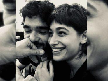 """""""Meu Rio São Francisco"""", declara Caio Blat para comemorar os 25 anos de Luisa Arraes"""