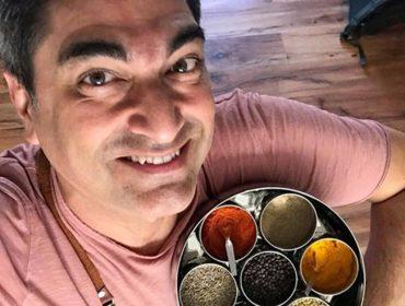 Zeca Camargo se lança no universo gastronômico com livro inspirado na alimentação indiana