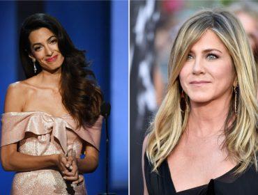 Jennifer Aniston teria recorrido a Amal Clooney para encontrar o homem perfeito.Vem saber!