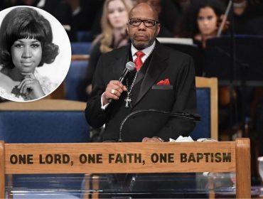 """Família de Aretha Franklin reclama do pastor que discursou no enterro dela: """"Foi desrespeitoso"""""""