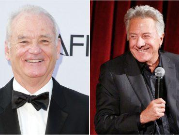 """Bill Murray defende Dustin Hoffman e diz que o ator foi """"mal entendido"""" em suposto caso de assédio"""