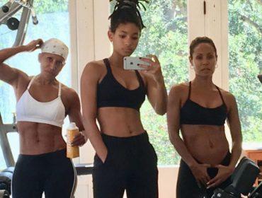 Aos 64 anos, mãe de Jada Pinkett Smith rouba a cena em selfie de academia com a filha e a neta