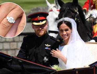 Palácio de Buckingham vende réplicas do anel de noivado de Meghan Markle por R$ 161 cada