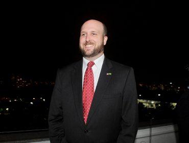 Cônsul-Geral dos Estados Unidos, Adam Shub, ganha cocktail de boas-vindas