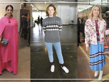 Em semana artsy, bem vestidas exibem looks com toques criativos e irreverentes