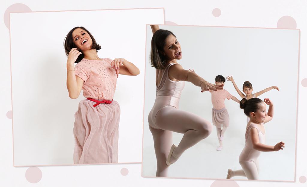 cf18a49069 Capezio lança coleção para mães e filhas em parceria com a bailarina  Giovana Puoli