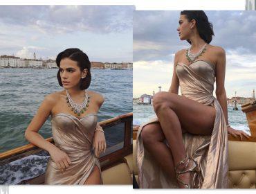Stylist de Bruna Marquezine conta os bastidores dos looks que a atriz tem usado no Festival de Veneza
