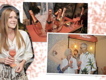 Chandon invade festa na Casa Glamurama com presença de Sabrina Sato