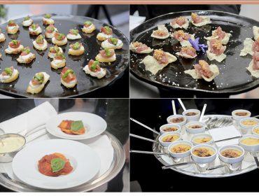 Buffet Balsamico delicia convidados do encontro com Sabrina Sato na Casa Glamurama
