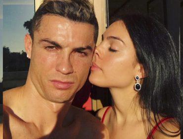 Corpos bronzeados e carícias: Cristiano Ronaldo e namorada curtem dia de dolce far niente na Itália
