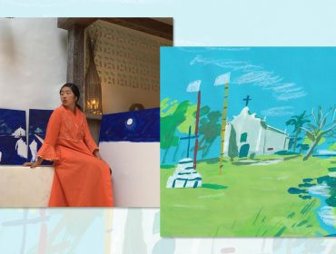 "Ilustradora inglesa Joey Yu participa da mostra ""Artist In Casa"" em Trancoso"