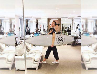 Conheça a brasileira Amanda Sanchez,modelo de prova da Chanel há 18 anos