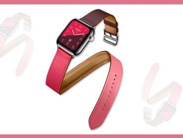 Desejo do Dia: Apple Watch Hermès Series 4 que combina os tons de rosa e vermelho