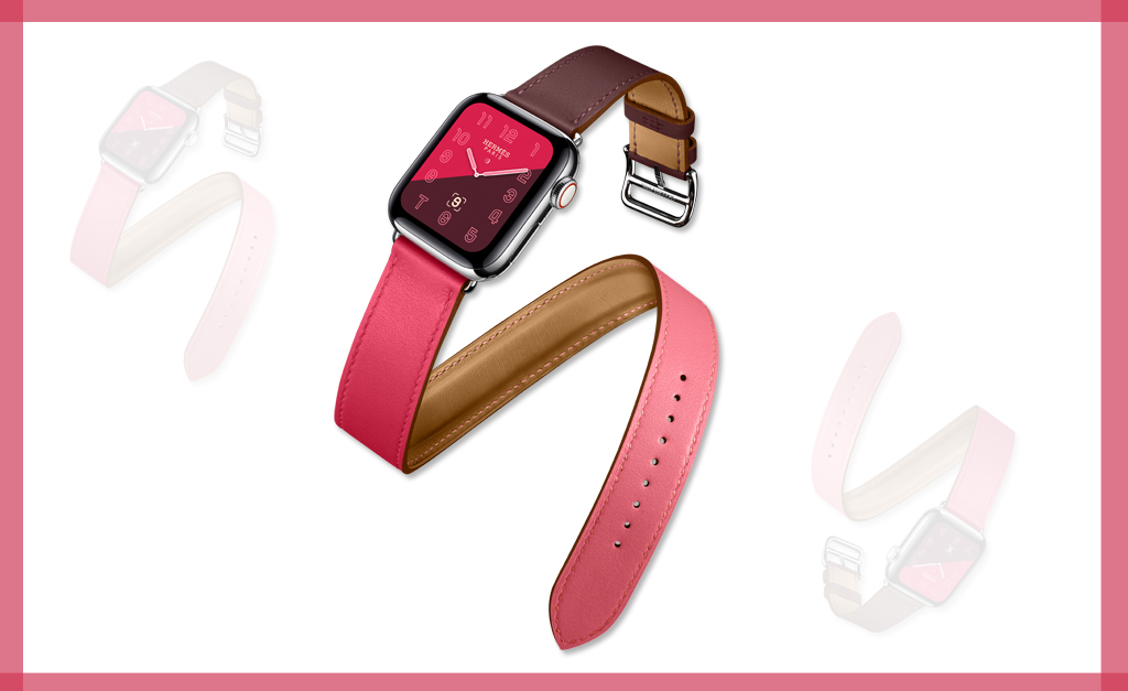 fdc5bbe4147 Desejo do Dia  Apple Watch Hermès Series 4 que combina os tons de ...