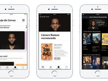 Lázaro Ramos é o primeiro convidado da Apple para indicação de livros e filmes no novo IOS