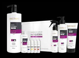 Linha Cronograma Capilar AntiQuebra, da Aneethun, é a solução para os cabelos danificados