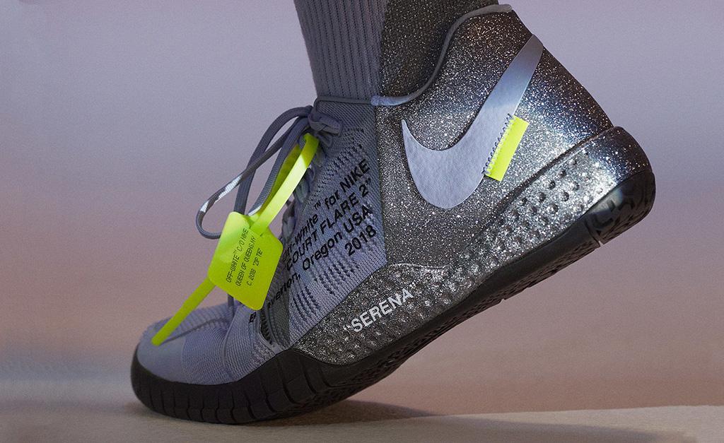 Desejo do Dia  tênis esportivos Nike por Virgil Abloh para Serena ... 162d639432448