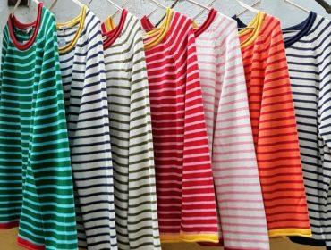 Desejo do Dia: profusão cool de cores com os tricôs listrados da Simultanea
