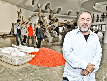 """Turma artsy se reuniu na noite de abertura da mostra """"Ai Weiwei Raiz"""", na OCA"""