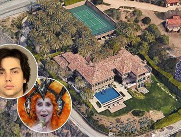 Polícia revira casa de Cher avaliada em R$175 mi e descobre que o local era usado como ponto de consumo de drogas