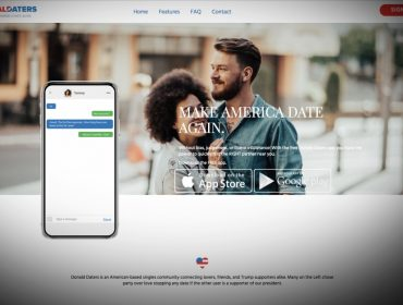 Apoiadores de Donald Trump ganham aplicativo de namoro exclusivo. Entenda!