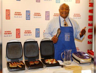 Lenda viva do esporte, George Foreman ganhou mais dinheiro com grill do que como atleta