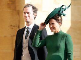 Um mês após o nascimento, Pippa Middleton revela o nome de seu primeiro filho