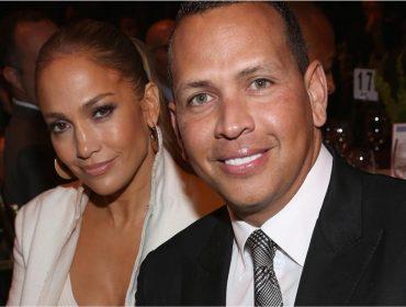 J-Lo surge com anel de diamante gigante e fãs suspeitam de casamento secreto com Alex Rodriguez