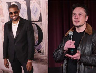 A última de Kanye West: o rapper agora resolveu defender o bilionário Elon Musk. Aos fatos!